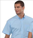 Short Sleeve Club Oxford Shirt