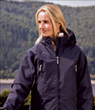 Waterproof/Breathable 3-in-1 Jacket